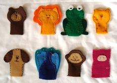 Links With Love: Free Finger Puppet Patterns : Felt With Love Designs
