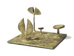View Landscape (Circa By Harry Bertoia; Access more artwork lots and estimated & realized auction prices on MutualArt. Harry Bertoia, Outdoor Sculpture, Brutalist, Wabi Sabi, Statues, 1950s, The Incredibles, Metal Sculptures, Modernism