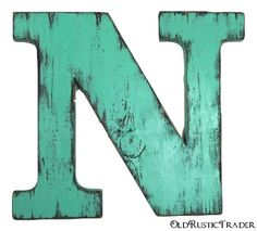 Uppercase wood letter N 12 inch wood letter hanging wall wooden letters wedding guest book letters shabby chic letters painted Meadow Shabby Chic Letters, Rustic Letters, Book Letters, Letter N, Wooden Letters, Wedding Guest Book, Things To Buy, Alphabet, Wall