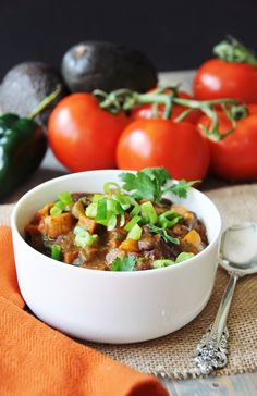 If you love sweet and spicy in one glorious dish, you're going to love this roasted sweet potato chili – vegan and gluten-free. It's one of those fall meals that just makes you want to bottle…