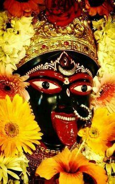 जय माँ काली जय जय भद्रकालिका ।। Durga Kali, Kali Mata, Shiva Shakti, Maa Kali Images, Durga Images, Mother Kali, Divine Mother, Radha Krishna Photo, Krishna Art