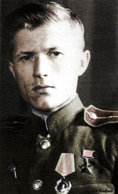 Soviet sniper Ivan Sidorenko. It has 500 killed fascists.
