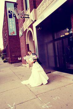 Five Event Center! So cute! Photo by Travis #FiveEventCenter #MinneapolisWeddingPhotographer