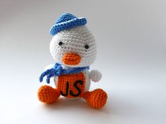 JavaScript Duck - Amigurumi von Aminga auf Etsy