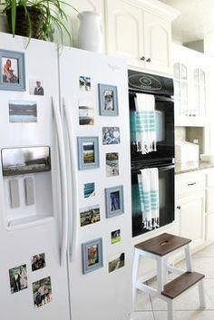 The Wicker House: Displaying Memories on the Refrigerator