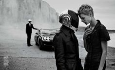Saskia de Brauw & Daft Punk by Peter Lindbergh