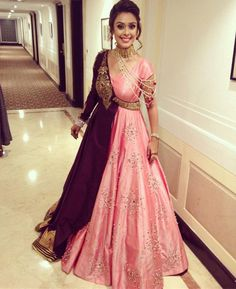 Dresses - Complete Wedding Album Of Famous Bollywood Actress Hrishita Bhatt And Anand Tiwari Indian Designer Outfits, Designer Gowns, Indian Outfits, Punjabi Suits Designer Boutique, Boutique Suits, Designer Bridal Lehenga, Indian Wedding Gowns, Indian Gowns Dresses, Bridal Outfits