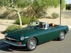1972 MGB Midgit. Looks just like the one I had , except mine was a beautiful turquoise color. I loved that car, soooo much fun to drive.