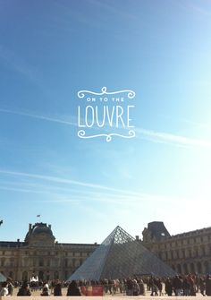 #Paris Image Via: The Fresh Exchange. I have always wanted to go to the louvre and see the amazing art.