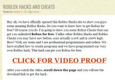We have a huge collection of roblox hacks!