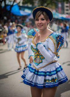 China morena de la Danza Morenada