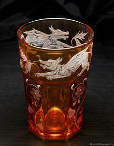 Купить подарочный стакан шумерские мотивы в интернет магазине на Ярмарке Мастеров