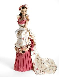 """Simply Stunning Tyler Wentworth """"La Belle Mademoiselle"""" was created as a souvenir doll for the 2008 Paris Fashion Doll Festival."""