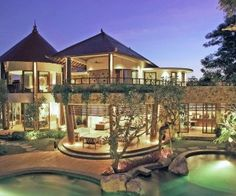 This stunning villa is nestled on sprawling lush and tropical landscaping in Sanur, Bali. Not only is the villa truly visually impressive, it also incorporates state-of-the-art and environmentally sustainable construction techniques and fixtures of a standard seldom found on the island. No expense has been spared to create a residence of unparalleled quality. More than that, a great deal of thought has gone into making this a supremely comfortable, practical and livable dwelling.