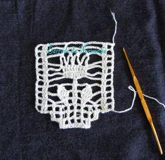 OFICINA DO BARRADO: Crochetando um outro Barrado . . .