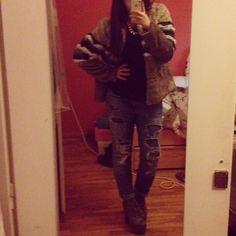 Fur PB, jeans Zara ,JC Lita boots