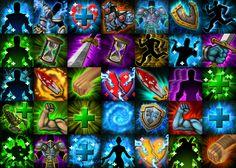 Skill Icons by CaseyD2K.deviantart.com on @deviantART