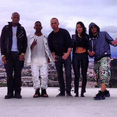 Kendrick Lamar, Phillyflyboy, Kris Stephens, and T.I.