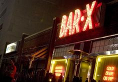 Bar-X in downtown Salt Lake City. For 49 more great SLC bars, click through.