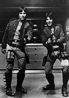 Richard Hatch & Rick Springfield (Battlestar Galactica - 1978)
