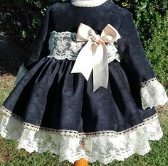 spanish style homes dallas texas Baby Girl Frocks, Frocks For Girls, Kids Outfits Girls, Girl Outfits, Cute Outfits, Lovely Dresses, Flower Girl Dresses, Frilly Dresses, 3 Months