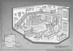 At FZD, we fully embrace the awesome power of line art. Here are some cool old school RPG room designs by our term 2 students (the character...