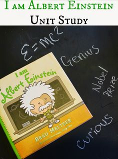 I am Albert Einstein Unit Study for kids - great for homeschool or extended preschool lessons.