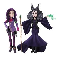 "Disney Descendants Two-Pack Mal Isle of the Lost and Maleficent Dolls -  Hasbro - Toys""R""Us"