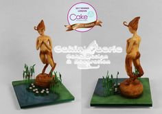 Serene Satyr - 2017 Cake International London - Cake by Suzanne Readman - Cakin' Faerie