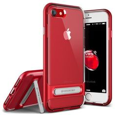 VRS Crystal Bumper iPhone 7 (4.7 in) Case - Red