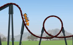 How much energy does it take to run a roller coaster? Find out in our latest #physics #Simulation!