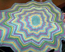 Ravelry: Basic Round Ripple Afghan pattern by Doris Yocum Turner