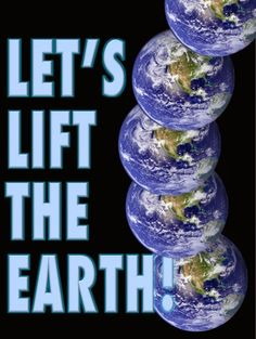 Let's Lift the Earth! David Brin, Fun Workouts, Mbs, Earth, Let It Be, Hippy, Science Fiction, Highlights, Technology