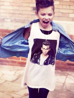 Cry Baby t-shirt yes love it!