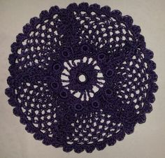 A wild Rose (updated). Pattern in: The Go-to Book for Irish Crochet Motifs http://www.amazon.co.uk/gp/product/1596359234