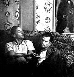 Burroughs and Kerouac in Greenwich Village 1944