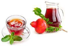 Αντιοξειδωτικό ρόφημα με ρόδι για αποτοξίνωση και αδυνάτισμα Simple Minds, Alcohol Free, Healthy Drinks, Pomegranate, Smoothies, Panna Cotta, Herbs, Vegetables, Ethnic Recipes