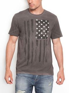 Stars Stripes Tee | GUESS.com