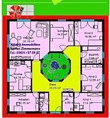 atrium 5 bungalow einfamilienhaus neubau massivbau stein auf stein grundrisse pinterest. Black Bedroom Furniture Sets. Home Design Ideas