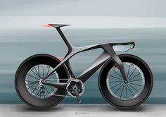 La Scott Plasma futurista que diseñó Julien Delcambre