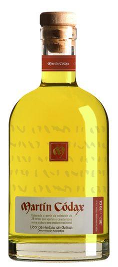Licor de Hierbas - Bodegas Martín Códax. Denominación Geográfica Licor de Herbas de Galicia
