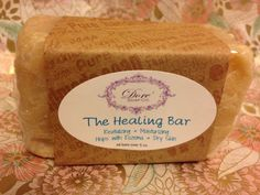 The Healing Bar/Healing Soap Bar /All Natural Therapeutic Healing Soap /Revitalizing and Moisturizing by DORESOAPCO on Etsy