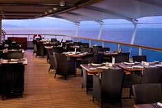 Dining onboard Seabourn Cruises