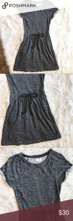 """Lou & Grey Heathered Lounge Dress a486 Lou & Grey Heathered Lounge Dress In excellent condition. Drawstring at waist for a more flattering fit. 100% cotton. Size small. Length - 37"""", bust - 18"""", waist - 14"""". Lou & Grey Dresses"""