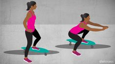 Roll your way to a strong body with 9 skateboard exercises