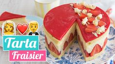 TARTA FRAISIER   ❤️ Tarta especial aniversario de boda    Quiero Cup...