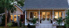 Holiday Coastal Cottage @ Shell Point #pinefloors #homes