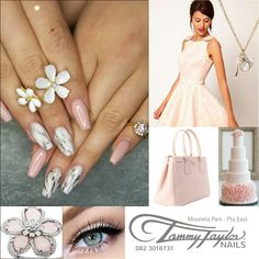Flawless Acrylic Nails By Tammy Taylor Nails South-Africa www.tammytaylornails.co.za