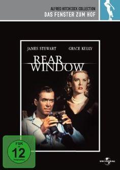 Das Fenster zum Hof  1954 USA      Jetzt bei Amazon Kaufen Jetzt als Blu-ray oder DVD bei Amazon.de bestellen  IMDB Rating 8,7 (180.586)  Darsteller: James Stewart, Grace Kelly, Wendell Corey, Thelma Ritter, Raymond Burr,  Genre: Mystery, Thriller,  FSK: 12