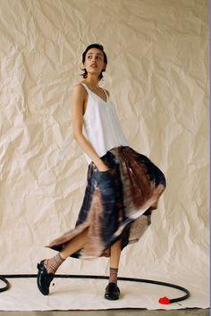 Raquel Allegra Resort 2019 Fashion Show Collection: See the complete Raquel Allegra Resort 2019 collection. Look 11